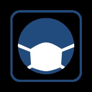コロナ感染症対策ピクトグラム マスク